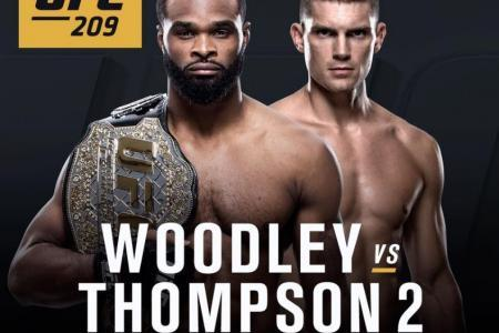 UFC 209: TWO WORLD TITLE FIGHTS HEADLINE FIRST LAS VEGAS EVENT OF 2017