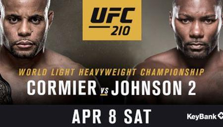 LIGHT HEAVYWEIGHT WORLD TITLE ON THE LINE WHEN CHAMPION DANIEL CORMIER COLLIDES WITH ANTHONY JOHNSON