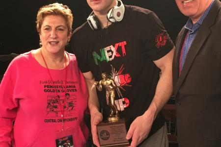 Conto Named Most Outstanding Boxer at Golden Gloves Regionals