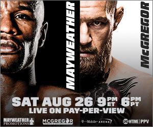JOE HAND PROMOTIONS NAMED EXCLUSIVE PPV DISTRIBUTOR FOR MAYWEATHER VS. MCGREGOR ON AUGUST 26