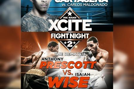 Prescott, Wise Rematch is Semifinal of XFN2 Friday, June 29