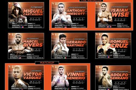 XCITE FIGHT NIGHT 2 UNDERCARD  FEATURES EXCITING MATCHUPS