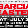 Easter Jr. Talks Unification Showdown with Garcia