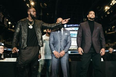 DEONTAY WILDER VS. DOMINIC BREAZEALE NEW YORK PRESS CONFERENCE QUOTES & PHOTOS