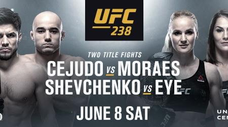 UFC RETURNS TO CHICAGO WITH TWO PREMIER CHAMPIONSHIP FIGHTS