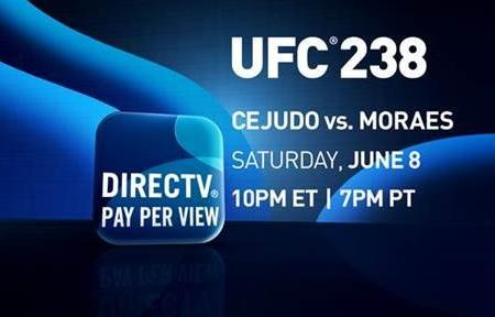 Important Channel Information for UFC 238 on Saturday, June 8