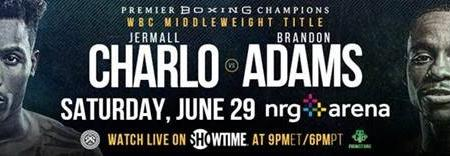 Unbeaten WBC Interim Middleweight Champion Charlo To Face 2018 The Contender Winner Brandon Adams Live On SHOWTIME