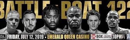 HEAVYWEIGHTS WALLIN AND FLORES BOTH EXPECTING VICTORY WHEN THEY CLASH ON SHOBOX: THE NEW GENERATION FRIDAY, JULY 12 LIVE ON SHOWTIME