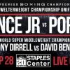 IBF Champion Errol Spence Jr. & WBC Champion Shawn  Porter Meet in Welterweight World Title Unification Showdown Headlining Premier Boxing Champions on FOX Sports Pay-Per-View Event