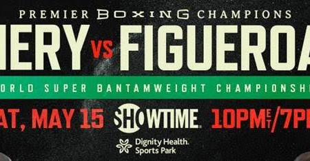 Luis Nery & Brandon Figueroa Square Off In High-Stakes World Title Showdown Saturday, May 15 Headlining Action Live on SHOWTIME