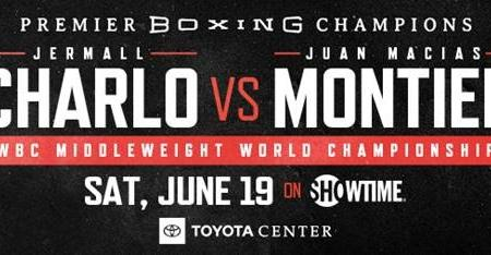 WBC MIDDLEWEIGHT WORLD CHAMPION JERMALL CHARLO TO FACE JUAN MACÍAS MONTIEL IN JUNETEENTH DAY CELEBRATION SATURDAY, JUNE 19