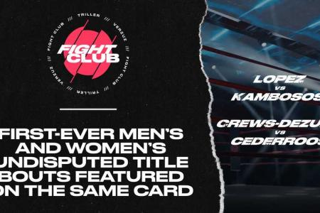 Triller Fight Club To Make History On June 19 At Miami's loanDepot park With First-Ever Men's and Women's Undisputed Title Bouts Featured On The Same Card
