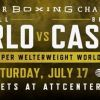 Unified World Champion Jermell Charlo Takes on WBO World Champion Brian Castaño In Highly Anticipated Undisputed Showdown on  Saturday, July 17