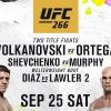 WORLD CHAMPIONSHIP DOUBLEHEADER TOPS UFC 266 AT T-MOBILE ARENA IN LAS VEGAS