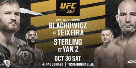 PAIR OF THRILLING WORLD CHAMPIONSHIP BOUTS TOP  UFC 267 IN ABU DHABI